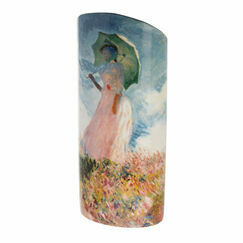 Monet - Woman with a Parasol Vase
