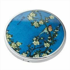 Hokusai - Birds/ Flowers Pocket Mirror