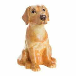 Yellow Labrador Money Bank