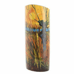 Van Gogh Willows at Sunset Vase