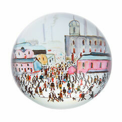 Lowry - Going to Work Paperweight
