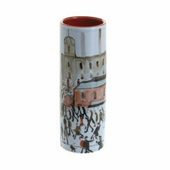 Lowry - Going to Work Small Vase