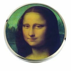 Da Vinci Mona Lisa Pocket Mirror