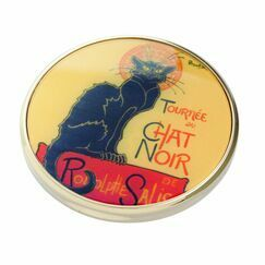 Steinlen Le Chat Noir Pocket Mirror