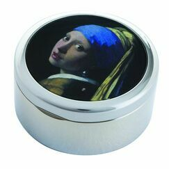 Vermeer Girl with the Pearl Earring Trinket Box