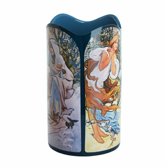Mucha Four Seasons Vase