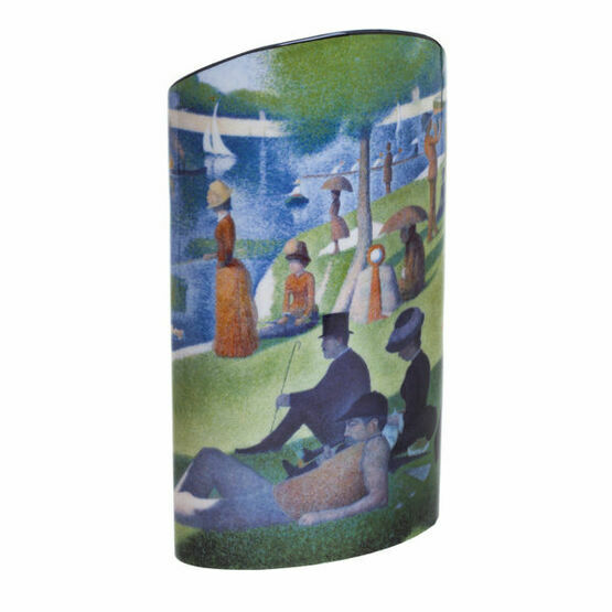 George Seurat A Sunday on the Grand Jatte Vase