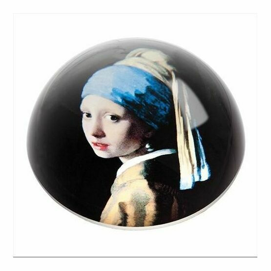 Vermeer - Girl With The Pearl Earring Paperweight