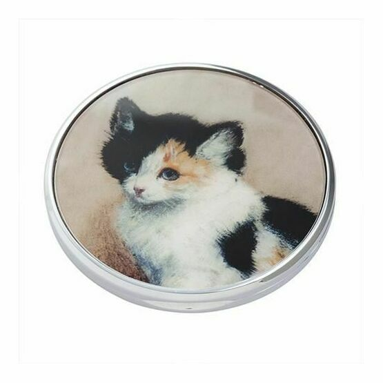 Knip - Awakening Kitten Pocket Mirror