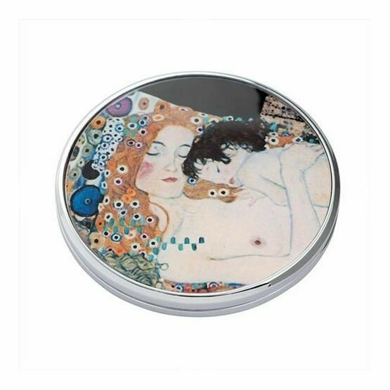 Klimt - Three Ages of Women Pocket Mirror