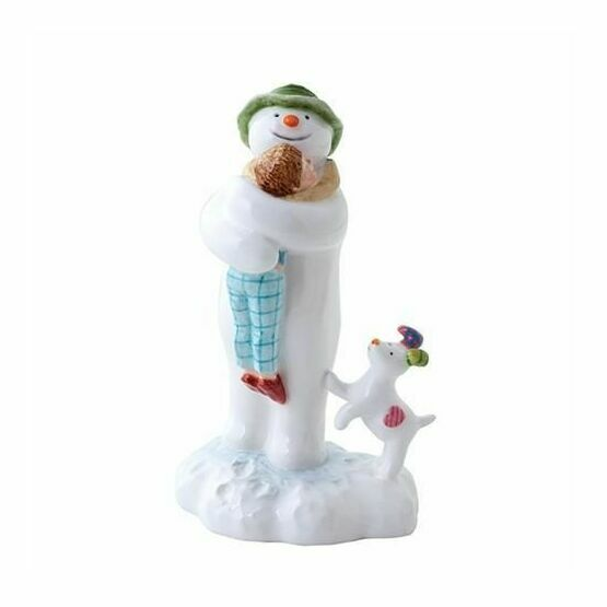 The Snowman Hugging Billy