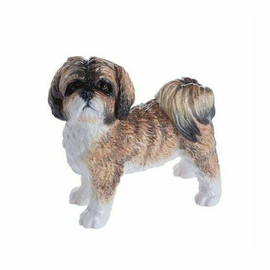 John Beswick Brown Shih Tzu Dog Figurine Jbd90