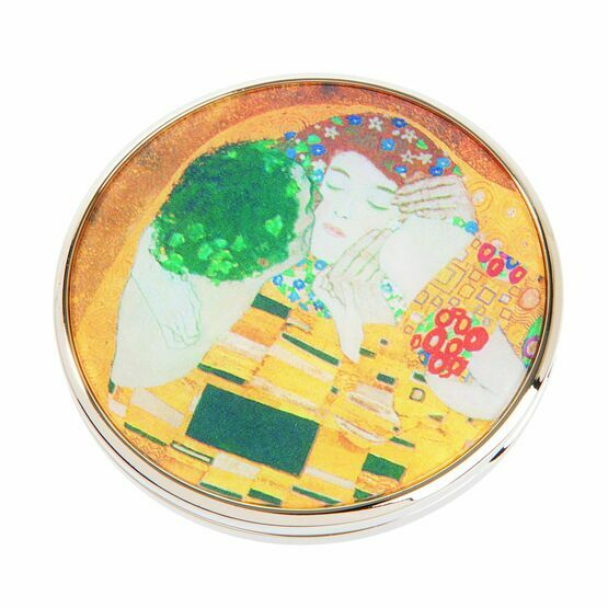 Klimt The Kiss Pocket Mirror