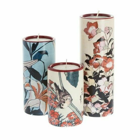 Hokusai - Set of Three Tealight Holders