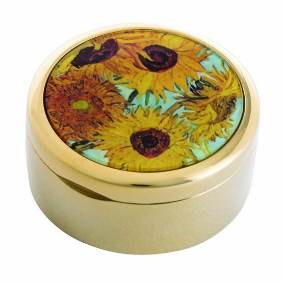 Van Gogh Sunflowers Trinket Box